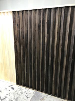店舗 木部塗装